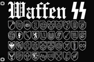 Waffen SS Divisions Flag